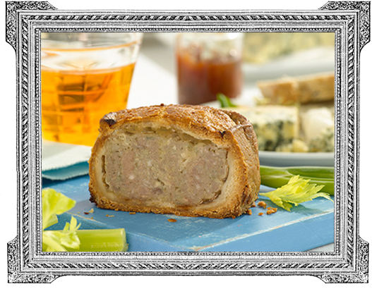 Pork and Stilton Pie